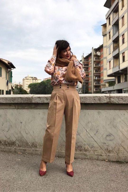 Pantaloni a carota Pennyblack